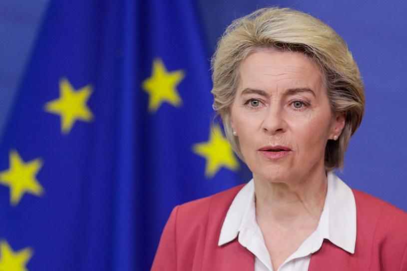 Szefowa Komisji Europejskiej Ursula von der Leyen /AFP