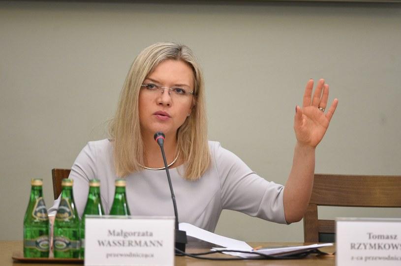 Szefowa komisji Małgorzata Wassermann (PiS) /Zbyszek Kaczmarek /Reporter