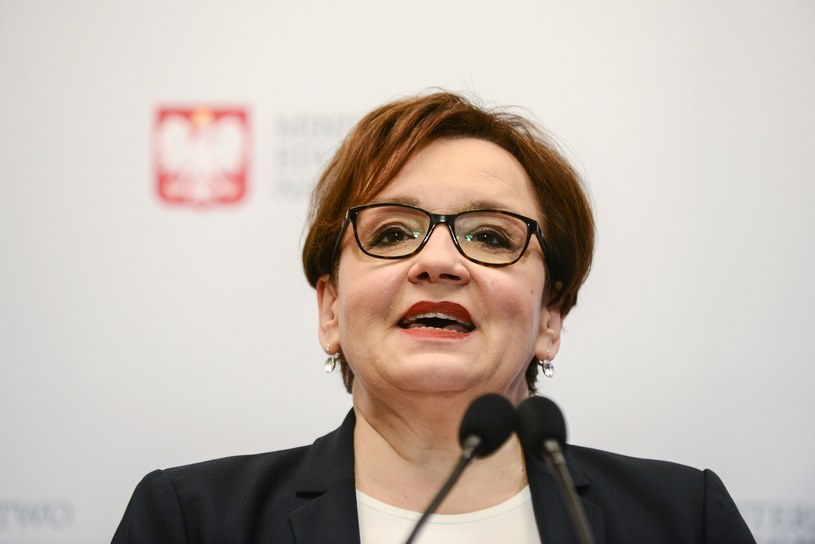 Szefowa MEN Anna Zalewska /Grzegorz Krzyzewski /Reporter