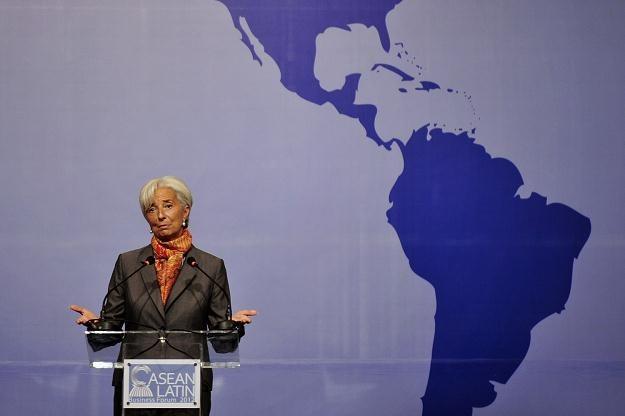 Szefowa Międzynarodowego Funduszu Walutowego Christine Lagarde /AFP