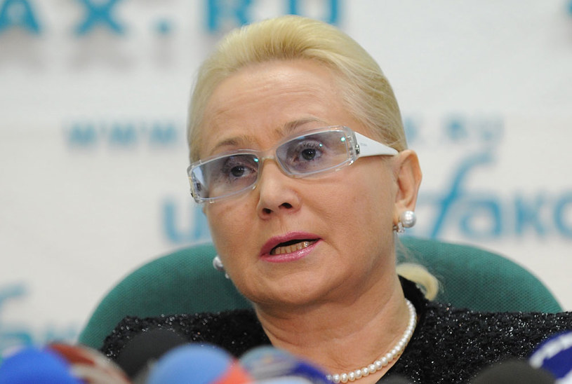 Szefowa Międzypaństwowego Komitetu Lotniczego (MAK) badającego wypadki lotnicze w Rosji Tatiana Anodina /AFP