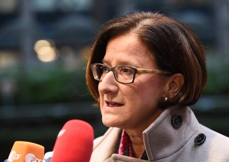 Szefowa MSW Austrii Johanna Mikl-Leitner /AFP