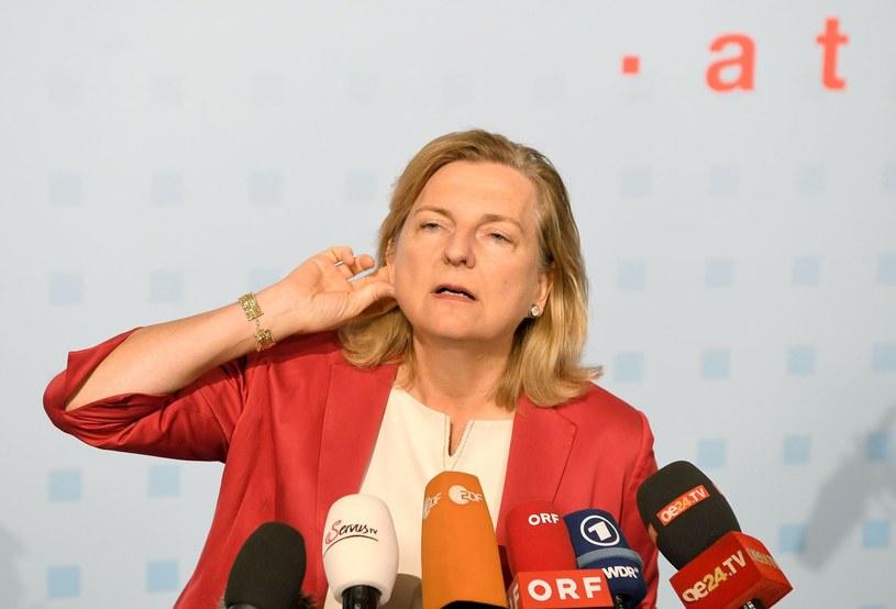 Szefowa MSZ Austrii Karin Kneissl /AFP