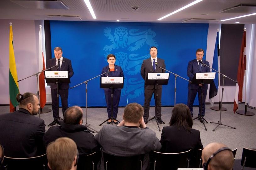 Szefowa polskiego rządu w poniedziałek w stolicy Estonii wzięła udział w spotkaniu premierów państw bałtyckich /PAP/EPA