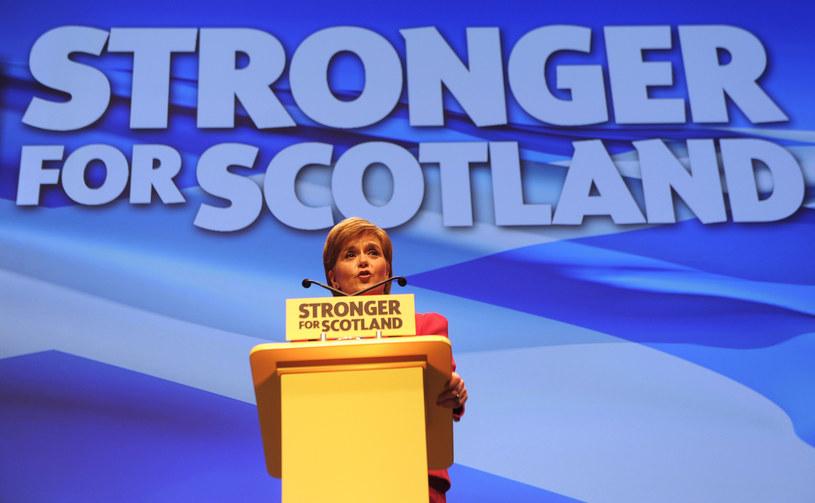 Szefowa rządu Szkocji Nicola Sturgeon /AFP