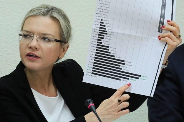 Szefowa sejmowej komisji śledczej ds. Amber Gold, posłanka PiS Małgorzata Wassermann /Paweł Supernak /PAP