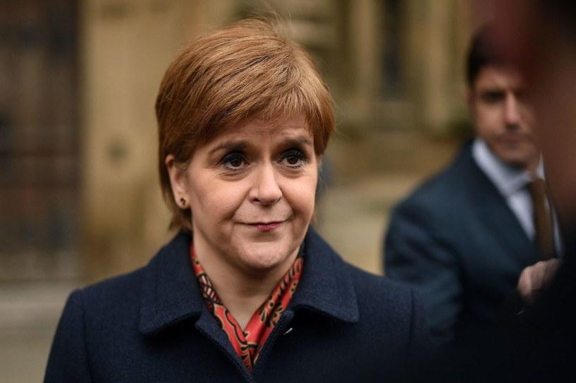 Szefowa szkockiego rządu Nicola Sturgeon /Oli Scarff /AFP