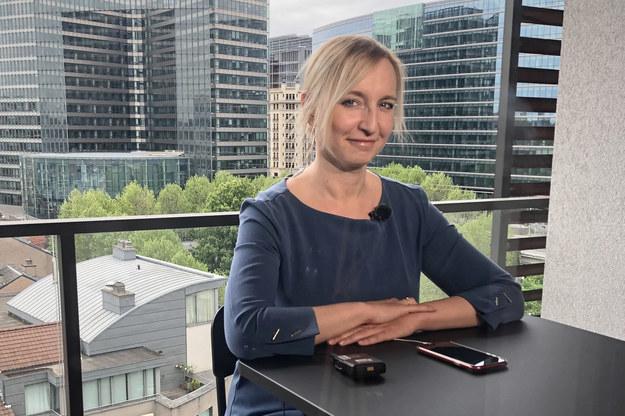 szefowa unijnego zespołu ds. walki z rosyjską dezinformacją (East Stratcom Task Force) w ramach Europejskiej Służby Działań Zewnętrznych (EEAS) Martyna Bildziukiewicz /ESTF /PAP