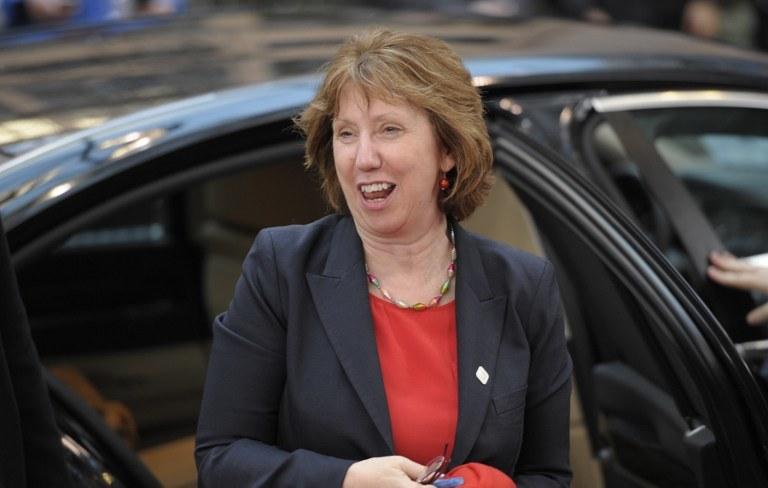 Szefowa unijnej dyplomacji Catherine Ashton /AFP