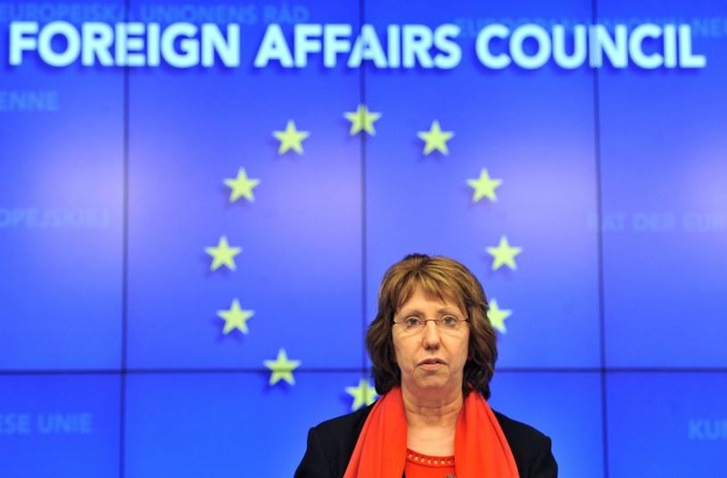 szefowa unijnej dyplomacji Catherine Ashton. /AFP