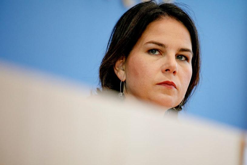 Szefowa Zielonych Annalena Baerbock /Carsten Koall /Getty Images