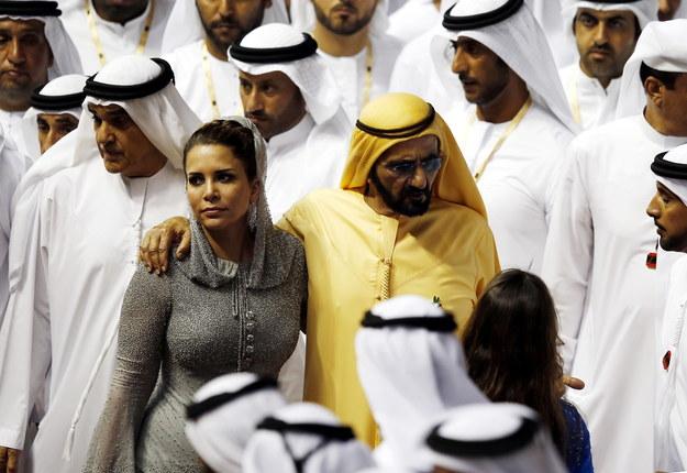 Szejk Mohammed bin Raszid al Maktum z żoną Hayą na zdjęciu z 2016 roku /ALI HAIDER /PAP/EPA