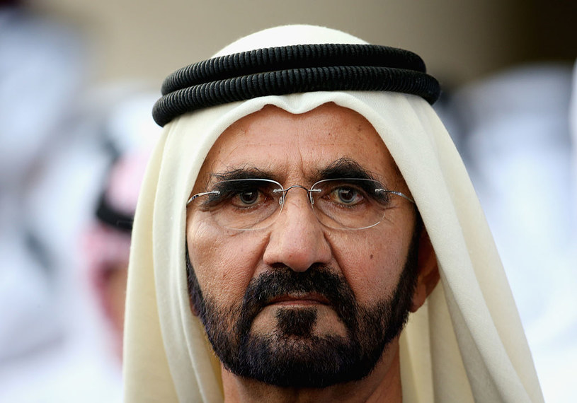 Szejk Muhammad za wszelką cenę stara się zatuszować rodzinne problemy /Warren Little /Getty Images