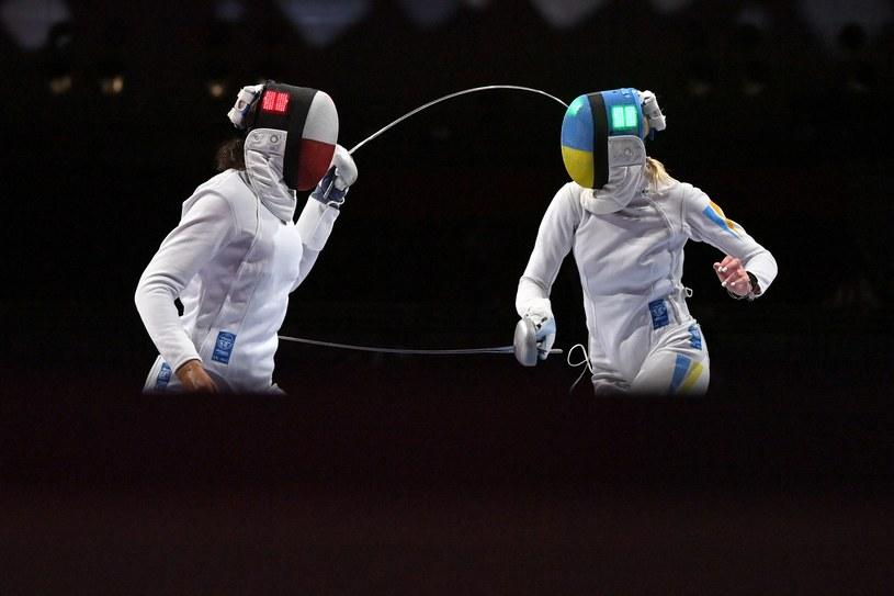 Szermierka /FABRICE COFFRINI / AFP /AFP