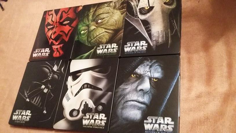 """Sześć części """"Gwiezdnych wojen""""  - wydanie Blu-ray /INTERIA.PL"""