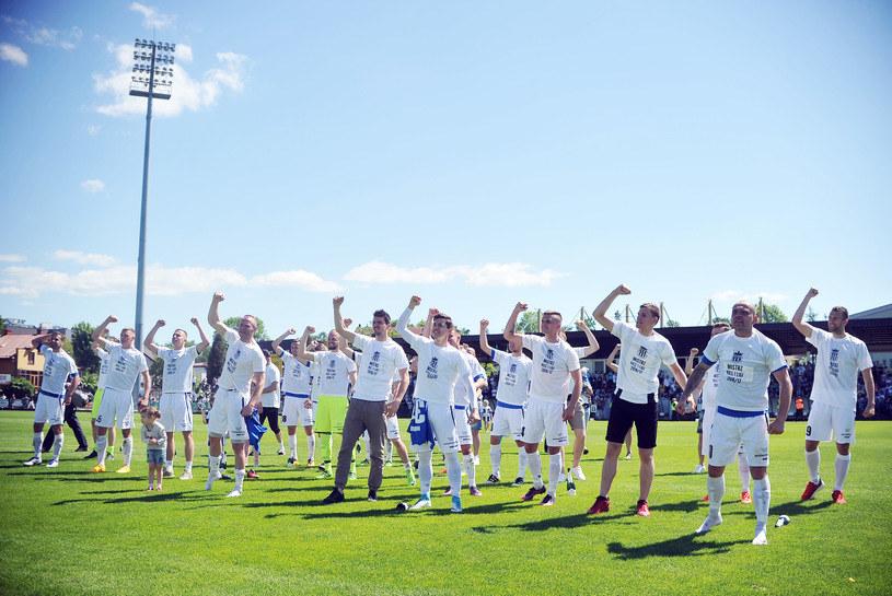 Sześć zespołów ma jeszcze szanse dołączyć do Sandecji Nowy Sącz i awansować do Ekstraklasy /Norbert Barczyk /Newspix