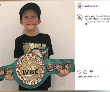 Sześciolatek dostał pas federacji WBC! Wideo