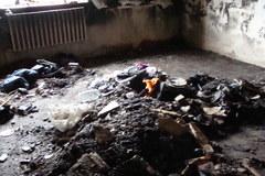 Sześcioosobowa rodzina z Urbania straciła w pożarze wszystko
