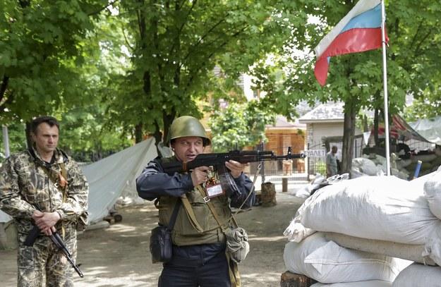 Sześciu ukraińskich żołnierzy zostało zabitych w starciu z prorosyjskimi bojownikami w okolicach Kramatorska /ANASTASIA VLASOVA /PAP/EPA