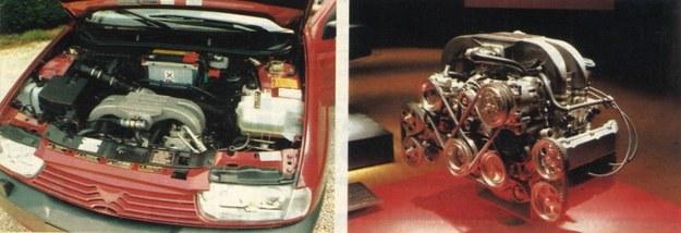 Szesnastozaworowy silnik o pojemności 1700 cm3 szokuje przede wszystkim... liczbą pasków. Naliczyliśmy ich pięć. Według zapewnień producenta, w najnowszej wersji jest ekonomiczny i przyjazny dla środowiska. Jednak nie udało się ograniczyć nadmiernej głośności odczuwalnej wewnątrz samochodu. /Motor