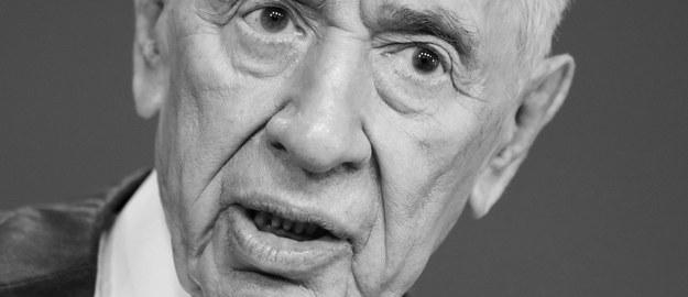 Szimon Peres nie żyje. Zmarł w wieku 93 lat