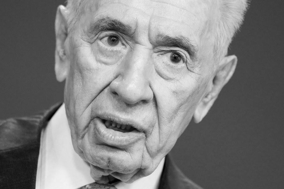 Szimon Peres /PAP/EPA/HAKON MOSVOLD LARSEN /PAP/EPA