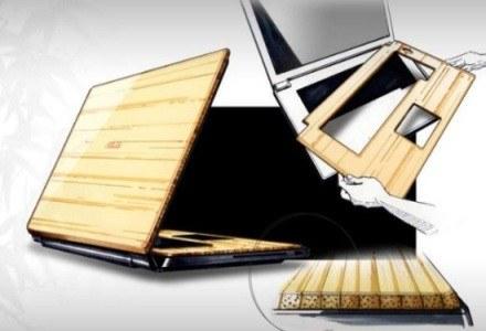Szkic pokazujący cykl produkcyjny notebooka /materiały promocyjne