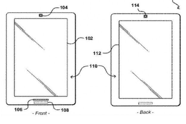 Szkic tabletu z wniosku patentowego Amazonu /tabletowo.pl