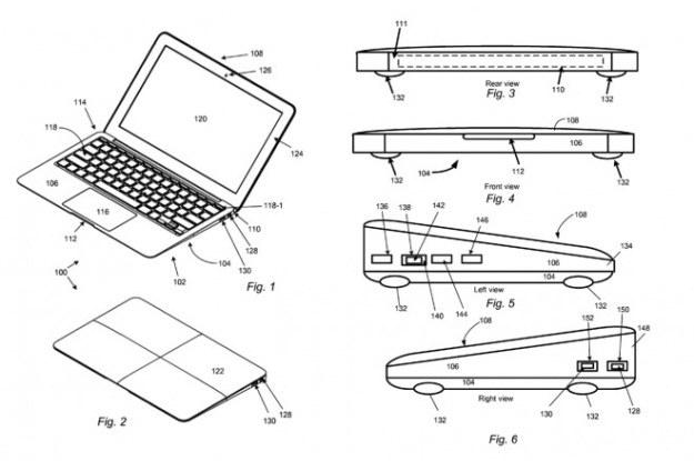 Szkic z wniosku patentowego Apple /materiały prasowe