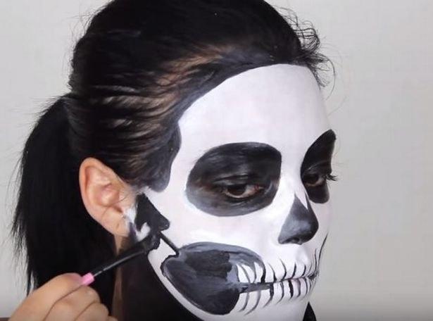 szkielet makijaż /© Photogenica