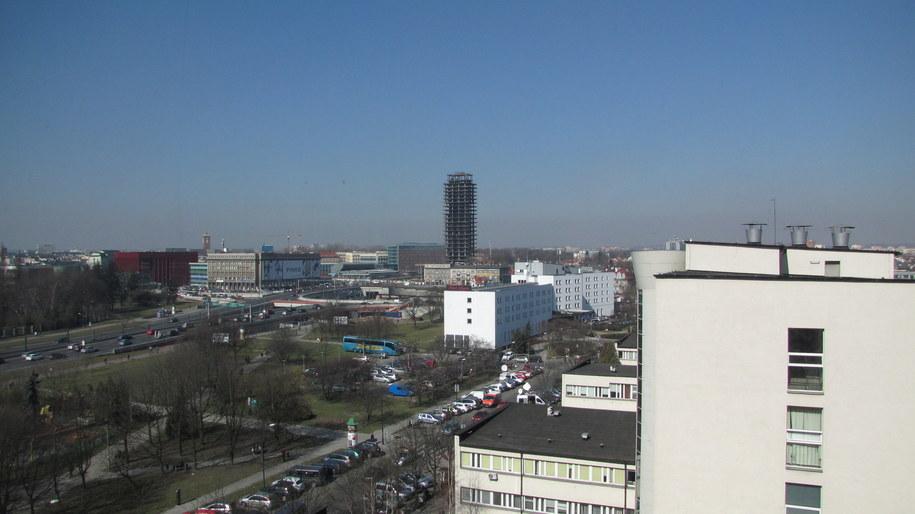 """""""Szkieletor"""" ma 92 metry /Maciej Grzyb /RMF FM"""