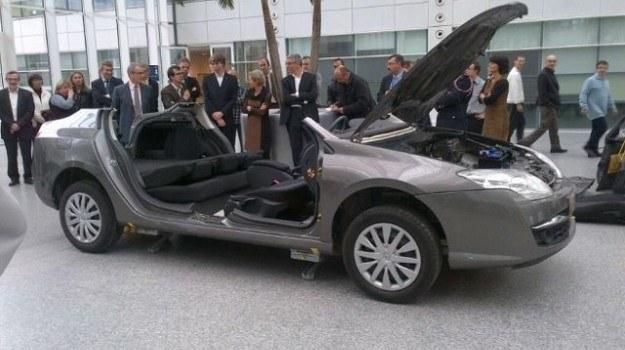 Szkieletowy egzemplarz Laguny /Renault