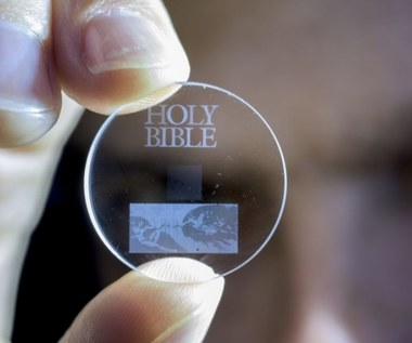 Szklany dysk 5D z 360 TB danych