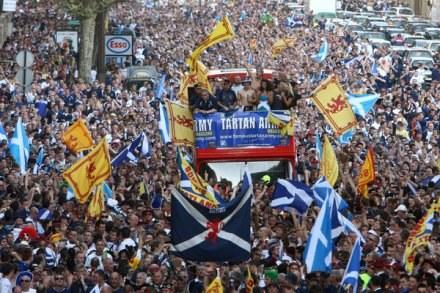 Szkoci zabiorą nam Euro 2012? /AFP