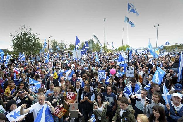 Szkocja chce budować niepodległość na ropie /AFP