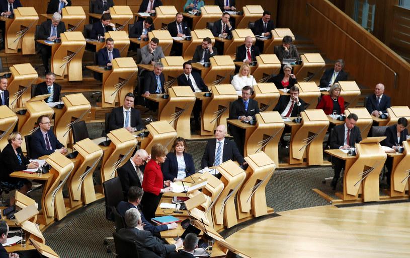 Szkocki parlament w Edynburgu /AFP