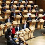 Szkocki parlament za referendum niepodległościowym