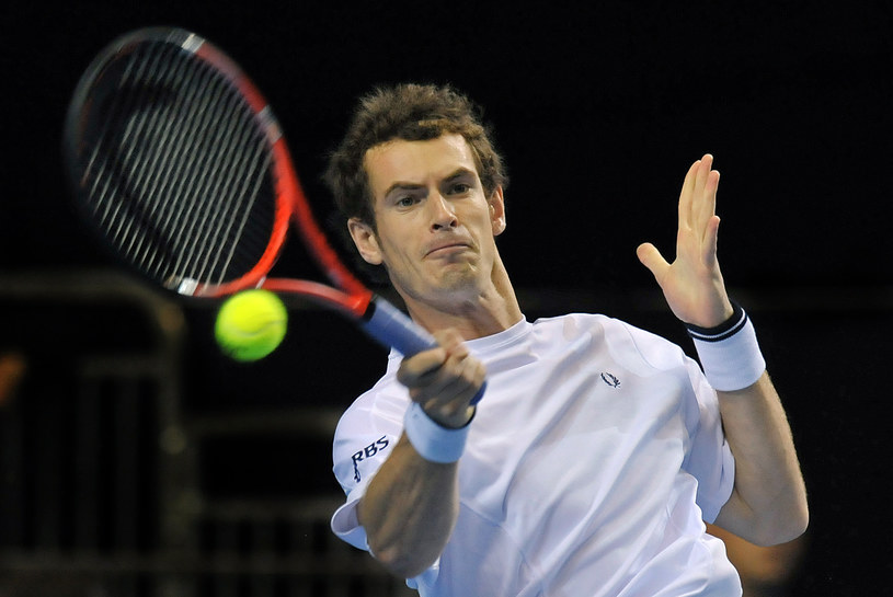 Szkocki tenisista Andy Murray /AFP