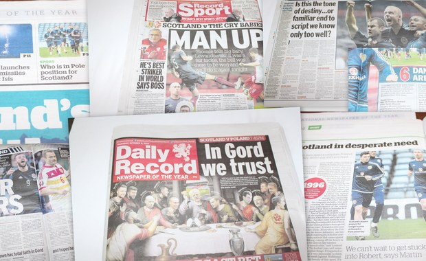 """Szkockie media dopingują swoich przed meczem. """"Zmierzymy się z płaczącymi dziećmi"""""""