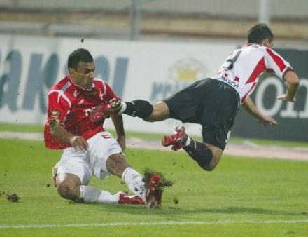 Szkoda, że derbów nie zapamiętamy tylko ze strony sportowej /Darek Hermiesz/SPORT-FOTO
