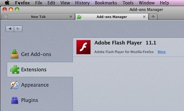 Szkodliwy moduł Flashfake'a ukrywający się pod postacią dodatku Adobe Flash Player dla  Firefoksa /materiały prasowe