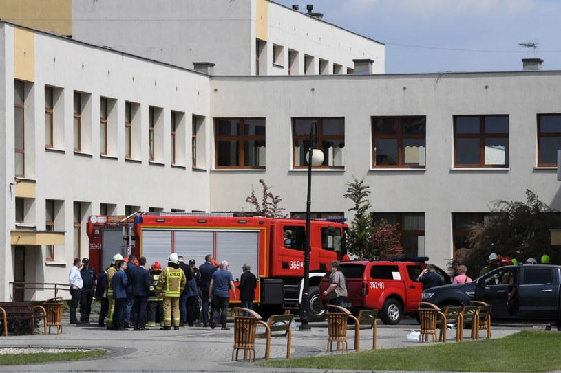Szkoła, gdzie doszło do strzelaniny /Tytus Żmijewski /PAP