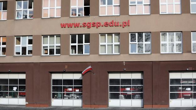 Szkoła Główna Służby Pożarniczej / Tomasz Gzell    /PAP