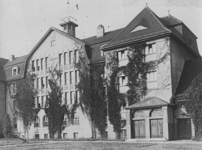 Szkoła Morska w Tczewie /Z archiwum Narodowego Archiwum Cyfrowego