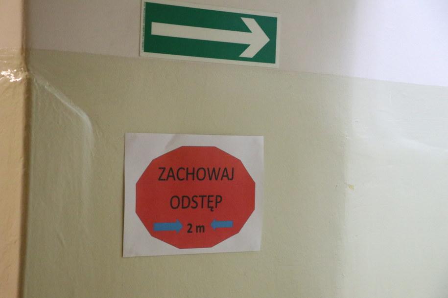 Szkoła podstawowa w małopolskich Myślenicach /Józef Polewka /RMF FM
