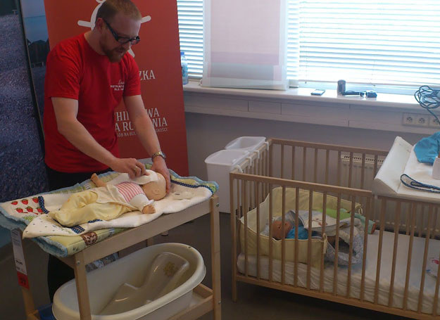 Szkoła rodzenia dla ojców /materiały prasowe