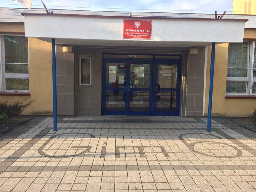 Szkoła w Koninie /Adam Górczewski /RMF FM