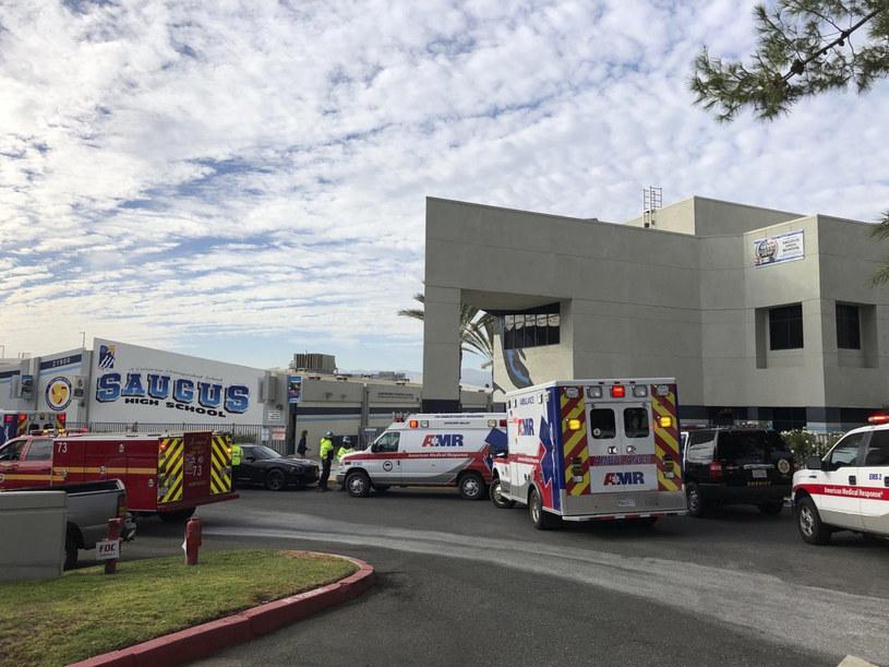 Szkoła, w której doszło do tragedii /Marcio Jose Sanchez /East News