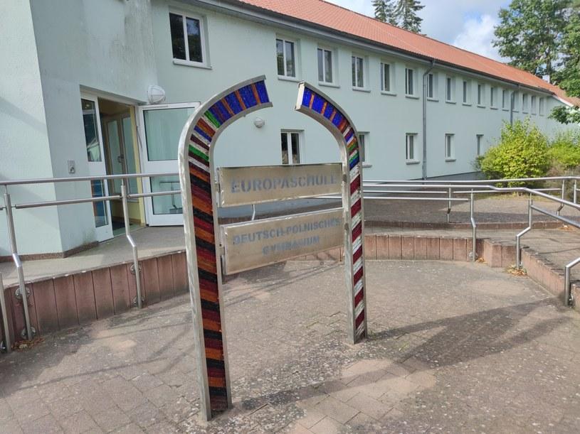 Szkoła w Loecknitz. Fot. Mateusz Madejski /