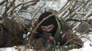 Szkolenia wojska w ramach zimowego poligonu